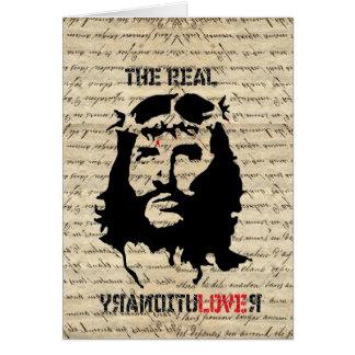 Jesus Christ revolutionary Card