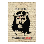 Jesus Christ revolutionary 3.5x5 Paper Invitation Card