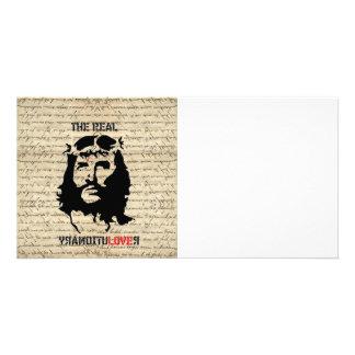 Jesus Christ revolutionary Personalized Photo Card