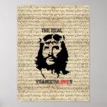 Jesus Christ revolutionary Posters