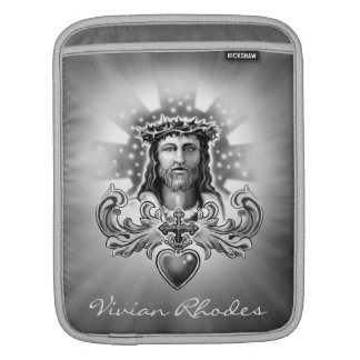 Jesus Christ Sacred Heart Design Sleeve For iPads