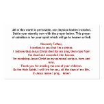 Jesus Christ, Settle Your Eternity Now W... Double-Sided Standard Business Cards (Pack Of 100)