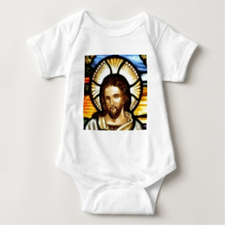 Jesus Christ Stained Glass Window Tee Shirt