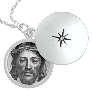 JESUS CHRIST STERLING SILVER NECKLACE