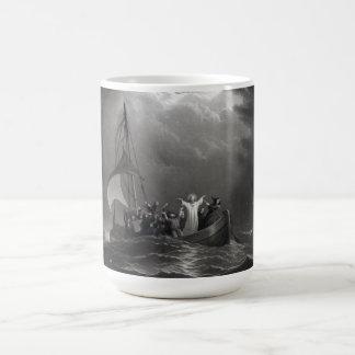 Jesus Christ Stills the Tempest Coffee Mug