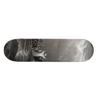 Jesus Christ Stills the Tempest Skateboard Deck