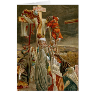 Jesus Christ taken down from the Cross Greeting Card