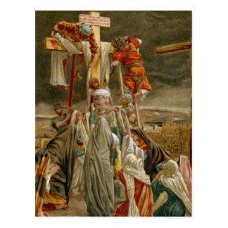 Jesus Christ taken down from the Cross Postcard