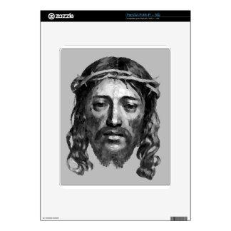 Jesus Christ Th Messiah Christian Art Skin For iPad