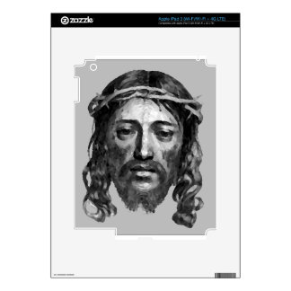 Jesus Christ Th Messiah Christian Art Skin For iPad 3