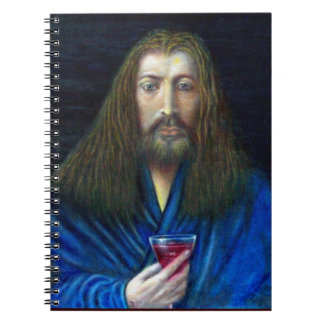 JESUS CHRIST,THE CHALICE NOTEBOOK