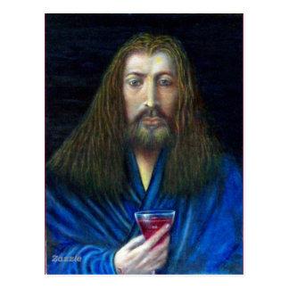 JESUS CHRIST,THE CHALICE POSTCARD
