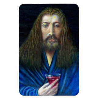 JESUS CHRIST,THE CHALICE RECTANGULAR PHOTO MAGNET