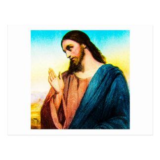 Jesus Christ The Lamb of God Vintage Postcard