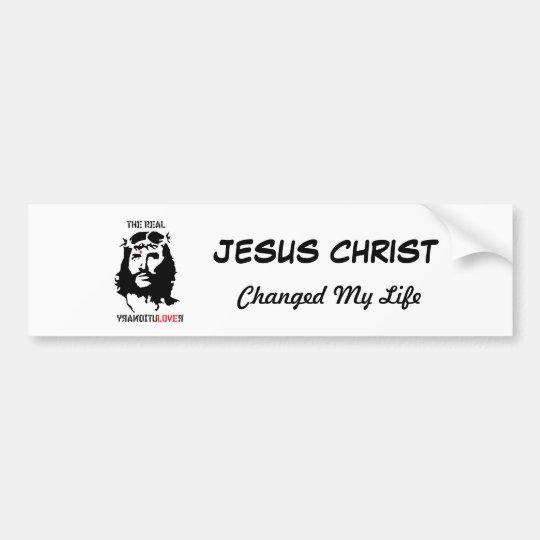 Jesus Christ - The Real Revolutionary Bumper Sticker