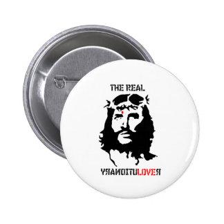Jesus Christ - The Real Revolutionary Pin