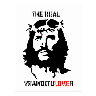 Jesus Christ - The Real Revolutionary Postcard