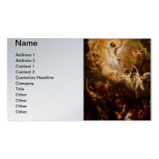 Jesus Christ the Resurrection Business Card