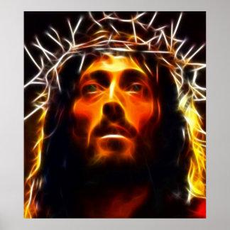 Jesus Christ The Savior Poster