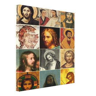 Jesus christ,vintage collage,antique,victorian canvas prints
