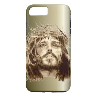 Jesus Christ with a Crown of Thorns iPhone 8 Plus/7 Plus Case