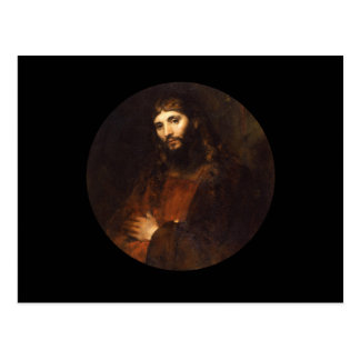 Jesus Christ with Arms Crossed Postcard