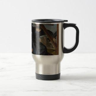 Jesus Christ With Cross Travel Mug