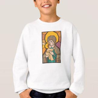 JESUS CHRIST WITH MOTHER MARY SWEATSHIRT