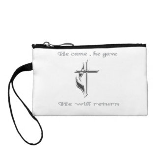 Jesus christian gifts coin wallet