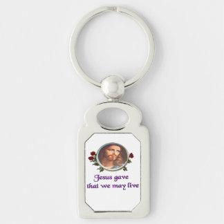 Jesus christian gifts keychain