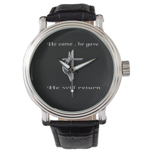 Jesus christian gifts wristwatch