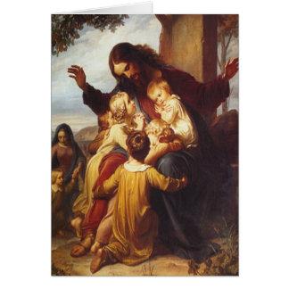 Jesus Christmas card