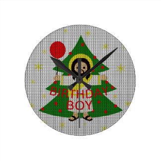 Jesus - Christmas Round Clock