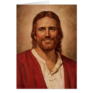 Jesus Christ's Loving Smile Card
