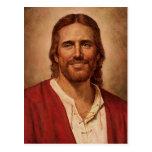 Jesus Christ's Loving Smile Postcards