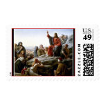 Jesus Christ's The Sermon on the Mount Postage Stamps