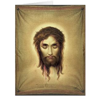 Jesús Christus 1876 Tarjeta De Felicitación Grande