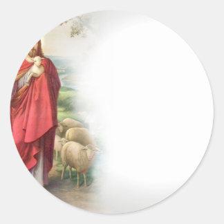 Jesus Classic Round Sticker