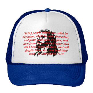 """jesus-clip-art, """"If My people which are called ... Trucker Hat"""