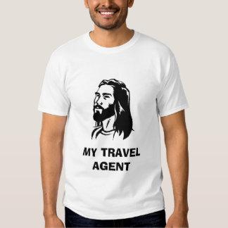 jesus-clip-art, MY TRAVEL AGENT Shirt