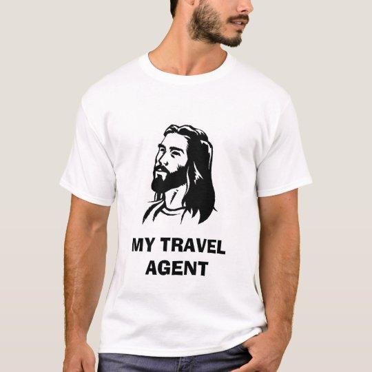 jesus-clip-art, MY TRAVEL AGENT T-Shirt