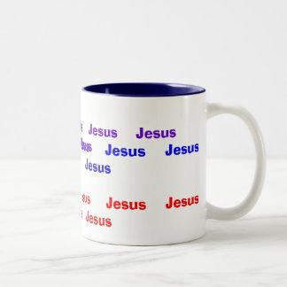 Jesus Coffee Mug in Tabernacle Colors