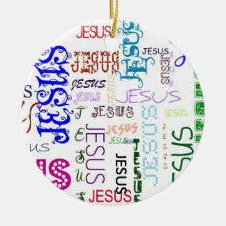 JESUS collection Ceramic Ornament