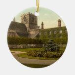 Jesus College, Cambridge, England Ceramic Ornament