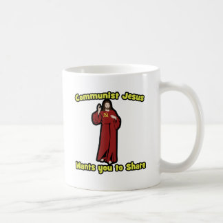 Jesús comunista taza clásica