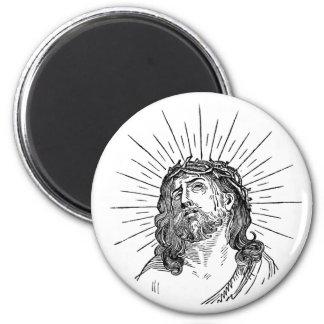 Jesús con el imán del personalizado de las espinas