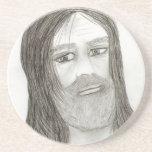 Jesús con halo posavasos diseño
