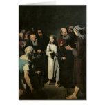 Jesús con los doctores felicitación