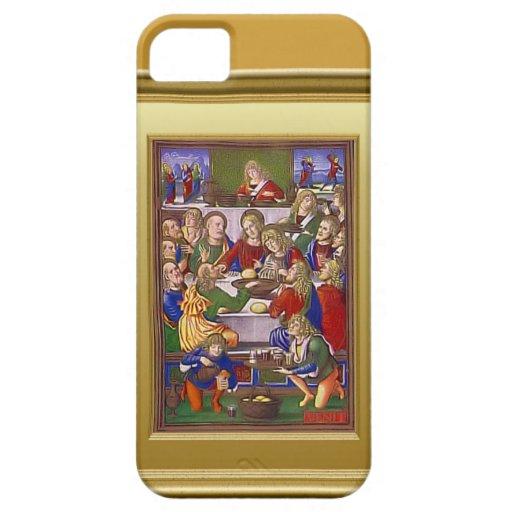Jesús con sus amigos funda para iPhone SE/5/5s