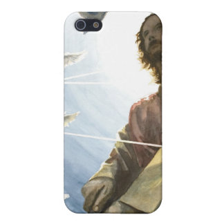 Jesús con un arma iPhone 5 funda